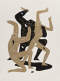 Prints & Multiples, Cleon Peterson (b. 1973). Heathens (White), 2017. Screenprint in colors on Coventry Rag paper. 24-1/4 x 18-1/4 inches (6...