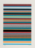 Prints & Multiples, JRF (b. 1971). Untitled 1 (Borders Series), 2020. Screenprint in colors on Coventry Rag cotton archiva...