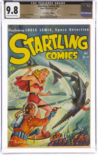 Startling Comics #52 The Promise Collection Pedigree (Better Publications, 1948) CGC NM/MT 9.8 Off-white to white pages...