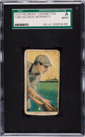 Baseball Cards:Singles (Pre-1930), 1909-11 T206 Piedmont 350 George Moriarty SGC Authentic - Missing Colors. ...