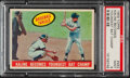 """Baseball Cards:Singles (1950-1959), 1959 Topps """"Kaline Becomes Youngest Bat Champ"""" #463 PSA Mint 9...."""