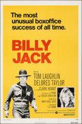 """Movie Posters:Action, Billy Jack (Warner Bros., R-1973). Folded, Very Fine-. One Sheet (27"""" X 41""""). Action.. ..."""