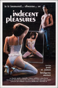 """Movie Posters:Adult, Indecent Pleasures & Other Lot (Gemini, 1984). Flat Folded, Very Fine. One Sheets (2) (27"""" X 41""""). Adult.. ... (Total: 2 Items)"""
