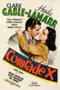 """Movie Posters:Comedy, Comrade X (MGM, 1940). Fine+ on Linen. One Sheet (27"""" X 41"""") Style C.. ..."""