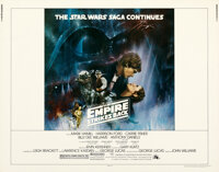 """The Empire Strikes Back (20th Century Fox, 1980). Rolled, Very Fine/Near Mint. Half Sheet (22"""" X 28"""") Style A..."""