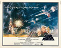 """Movie Posters:Science Fiction, Star Wars (20th Century Fox, 1977). Rolled, Very Fine+. Half Sheet (22"""" X 28"""") Tom Jung Artwork.. ..."""