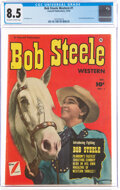 Golden Age (1938-1955):Western, Bob Steele Western #1 (Fawcett Publications, 1950) CGC VF+ 8.5 Off-white to white pages....