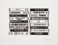 Prints & Multiples, Mark Drew (b. 1978). Rap (Hard to Earn), 2016. Letterpress on White Cotton Archival paper. 10-1/4 x 13 inches (26 x 33 c...