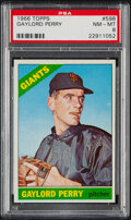 Baseball Cards:Singles (1960-1969), 1966 Topps Gaylord Perry #598 PSA NM-MT 8....