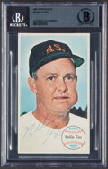 Autographs:Sports Cards, Signed 1964 Topps Giants Nellie Fox #13, BAS....