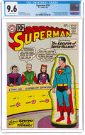 Silver Age (1956-1969):Superhero, Superman #147 (DC, 1961) CGC NM+ 9.6 Off-white pages....