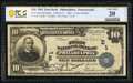 National Bank Notes:Pennsylvania, Philadelphia, PA - $10 1902 Date Back Fr. 616 The First National Bank Ch. # (E)1 PCGS Banknote Very Fin...