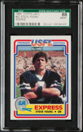 Football Cards:Singles (1970-Now), 1984 Topps USFL Steve Young #52 SGC 88 NM/MT 8....