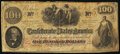 Confederate Notes:1862 Issues, Issued at San Antonio T41 $100 1862 PF-20 Cr. 316A Fine.. ...