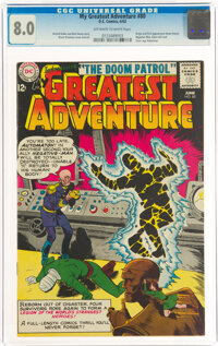 My Greatest Adventure #80 (DC, 1963) CGC VF 8.0 Off-white to white pages