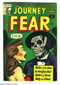 Golden Age (1938-1955):Horror, Journey Into Fear #20 (Superior, 1954) Condition: VG+. Notapproved by the Comics Code authority. Overstreet 2004 VG 4.0...