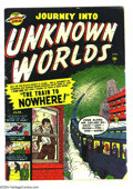 Golden Age (1938-1955):Science Fiction, Journey into Unknown Worlds #4 (Atlas, 1951) Condition: VG.Overstreet 2004 VG 4.0 value = $110. ...