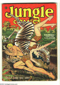 Golden Age (1938-1955):Adventure, Jungle Comics #48 (Fiction House, 1943) Condition GD+. Jim Mooney, George Tuska, Henry Kiefer, Richard Case, Saul Rosen, and...