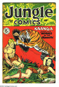 Golden Age (1938-1955):Adventure, Jungle Comics #112 (Fiction House, 1949) Condition FN+. Overstreet 2004 FN 6.0 value = $60; VF 8.0 value = $112....