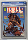 Magazines:Miscellaneous, Kull and the Barbarians (magazine) #1 (Marvel, 1975) CGC NM 9.4Off-white to white pages. Check out this lineup of artists: ...