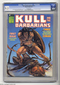 Magazines:Miscellaneous, Kull and the Barbarians (magazine) #1 (Marvel, 1975) CGC NM- 9.2Off-white pages. John Severin frontispiece. Michael Whelan ...