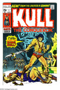 Bronze Age (1970-1979):Miscellaneous, Kull the Conqueror #1 (Marvel, 1971) Condition: VF/NM. Origin andsecond appearance of Kull. Marie Severin cover art. Ross A...