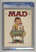 Magazines:Mad, Mad #101 (EC, 1966) CGC NM- 9.2 Off-white to white pages. Infinitycover by Norman Mingo. Mort Drucker, Joe Orlando, and Dav...