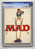 Magazines:Mad, Mad #103 (EC, 1966) CGC NM 9.4 White pages. Norman Mingo cover.Mort Drucker, Joe Orlando, and Al Jaffee art. Overstreet 200...