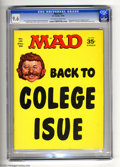 Magazines:Mad, Mad #131 (EC, 1969) CGC NM+ 9.6 Off-white to white pages. Jack Davis and Mort Drucker art. Ronald Reagan photo back cover. O...