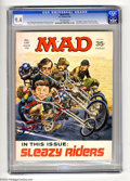 "Magazines:Mad, Mad #135 (EC, 1970) CGC NM 9.4 Off-white pages. Jack Davis cover.Richard Nixon and Spiro Agnew photo back cover. ""Easy Ride..."
