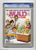 "Magazines:Mad, Mad #266 Gaines File pedigree (EC, 1986) CGC NM+ 9.6 White pages.Special TV issue. ""Who's the Boss"" and ""Growing Pains"" TV ..."