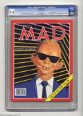 """Magazines:Humor, Mad #269 Gaines File pedigree (EC, 1987) CGC NM 9.4 White pages.""""Stand By Me"""" movie spoof. """"I Love Lucy"""" TV satire. """"Max He..."""