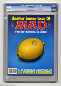 """Magazines:Mad, Mad #279 Gaines File pedigree (EC, 1988) CGC VF/NM 9.0 White pages.James Warhola """"scratch and sniff"""" cover. Mort Drucker, A..."""