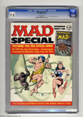 Magazines:Humor, Mad Super Special #21 (EC, 1976) CGC NM/MT 9.8 Off-white pages.Includes comic book The Nostalgic Mad #5. This is the hi...