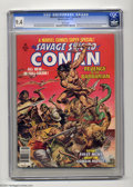 Magazines:Miscellaneous, Marvel Comics Super Special #2 Savage Sword of Conan (Marvel, 1977)CGC NM 9.4 White pages. John Buscema and Alfredo Alcala ...