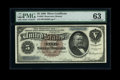 Large Size:Silver Certificates, Fr. 263 $5 1886 Silver Certificate PMG Choice Uncirculated 63....