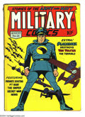 Golden Age (1938-1955):War, Military Comics #21 (Quality, 1943) Condition: VG. Overstreet 2003VG 4.0 value = $126....