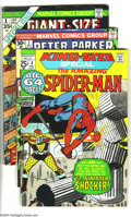 Bronze Age (1970-1979):Superhero, Miscellaneous Bronze Age Group (Various, 1968-74) Condition:Average GD/VG. This group includes Amazing Spider-Man #66 a...(Total: 8 Comic Books Item)