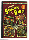 Golden Age (1938-1955):Religious, Picture Stories from the Bible Complete New Testament (EC, 1946)Condition VG/FN. Overstreet 2004 VG 4.0 value = $58; FN 6.0...