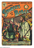 Golden Age (1938-1955):Religious, Picture Stories from the Bible New Testament 3 (EC, 1946) ConditionVG+. Overstreet 2004 VG 4.0 value = $38....