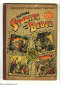 Golden Age (1938-1955):Religious, Picture Stories from the Bible Complete Life of Christ (EC, 1945)Condition VG. Contains #1-2 of the New Testament Edition. ...