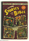 Golden Age (1938-1955):Religious, Picture Stories from the Bible Complete NT (40c) (EC, 1946)Condition GD+. Contains #1-3. Overstreet 2004 GD 2.0 value = $29...
