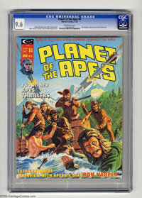Planet of the Apes (Magazine) #4 (Marvel, 1975) CGC NM+ 9.6 Off-white pages. Mike Ploog and George Tuska art. This is th...