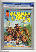 Magazines:Science-Fiction, Planet of the Apes (Magazine) #4 (Curtis, 1975) CGC VF/NM 9.0Off-white to white pages. Ron Harper interviewed by Chris Clar...