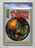 Magazines:Science-Fiction, Planet of the Apes (Magazine) #12 (Marvel, 1975) CGC NM 9.4Off-white to white pages. Tom Sutton art. This is the highest gr...