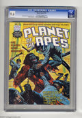 Magazines:Miscellaneous, Planet of the Apes (Magazine) #18 (Marvel, 1976) CGC NM+ 9.6Off-white to white pages. Alfredo Alcala art. This is the highe...
