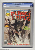 Magazines:Science-Fiction, Planet of the Apes (Magazine) #26 (Marvel, 1976) CGC NM- 9.2 Off-white to white pages. Low distribution according to Overstr...