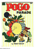 Golden Age (1938-1955):Cartoon Character, Pogo Parade #1 (Dell, 1953) Condition VG+. Walt Kelly cover andart. Overstreet 2004 VG 4.0 value = $48....