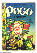 Golden Age (1938-1955):Funny Animal, Pogo Possum #1 (Dell, 1949) Condition FN. Walt Kelly cover and art.Overstreet 2004 FN 6.0 value = $135....