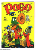 Golden Age (1938-1955):Funny Animal, Pogo Possum #10 (Dell, 1952) Condition VF-. Infinity cover. WaltKelly cover and art. Overstreet 2004 VF 8.0 value = $169....